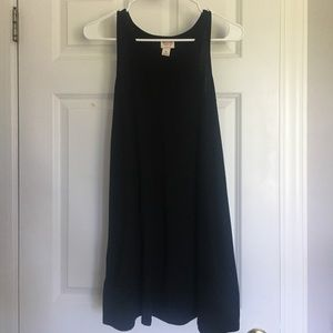 Black lose fitted dress size XS